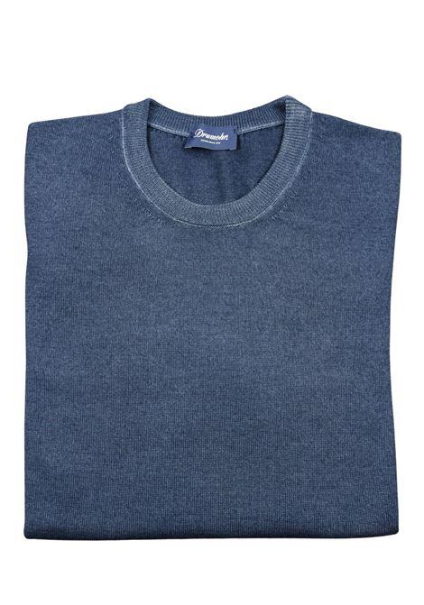 Pullover girocollo in lana merino DRUMOHR | Maglieria | D2M103A746