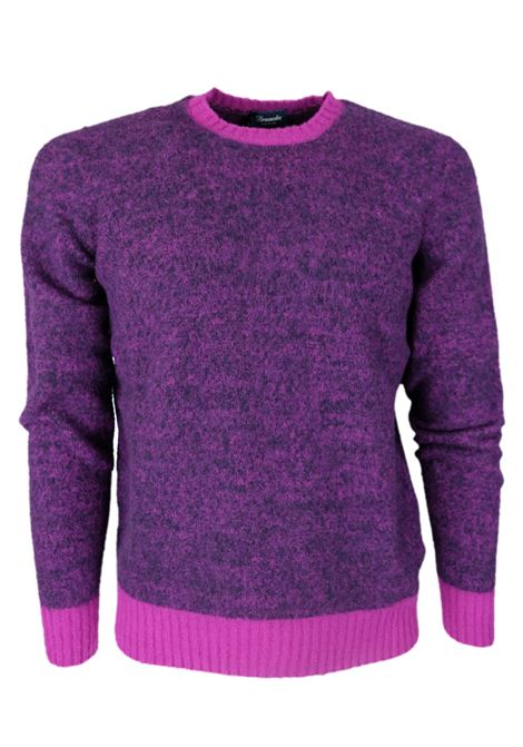 Pullover girocollo garzato DRUMOHR | Maglieria | D8W103MG01