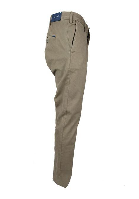 Pantaloni gabardine GANT | Pantaloni | 1503956261