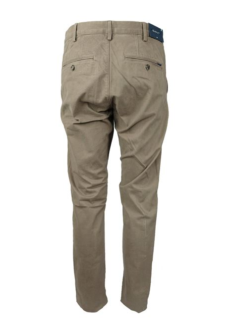 TWILL CHINOS GANT | Trousers | 1503956261