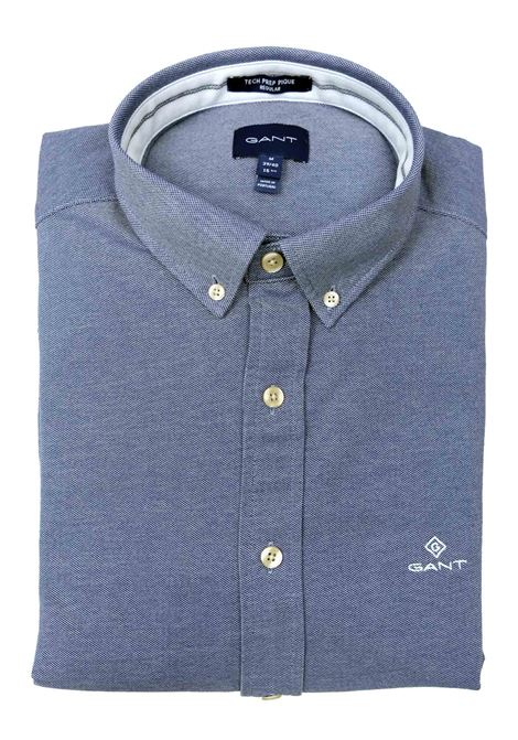 CAMICIA IN PIQUET GANT | Camicie | 3002560423