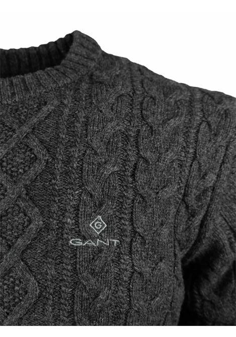 ROUNDNECK PULLOVER GANT | Knitwear | 800012195