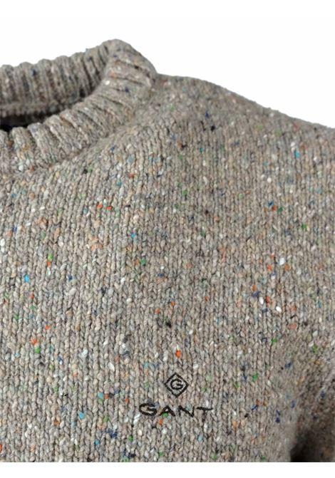 ROUNDNECK PULLOVER GANT | Knitwear | 8040059295