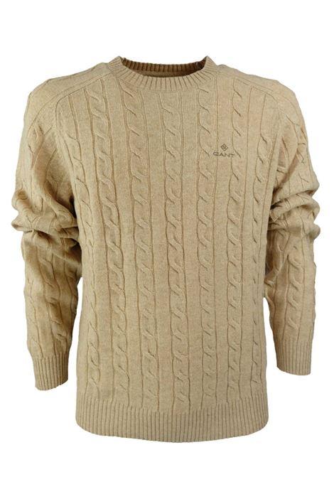 ROUNDNECK PULLOVER GANT | Knitwear | 8050076296