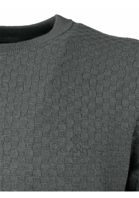 ROUNDNECK PULLOVER GANT | Knitwear | 805009636