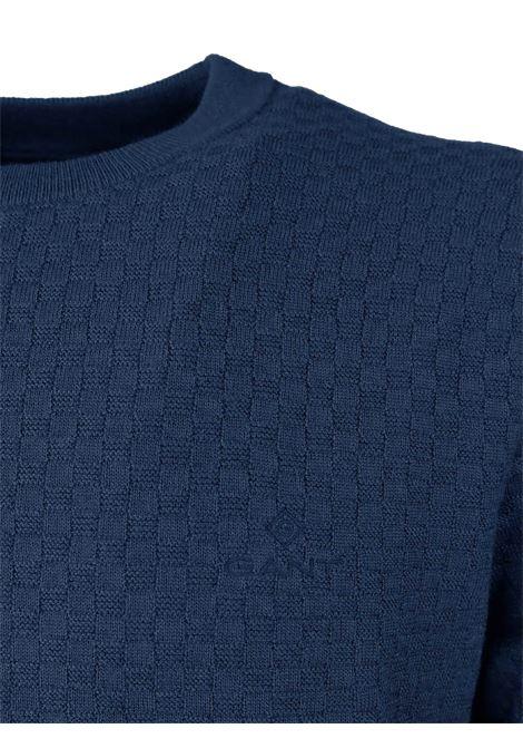 ROUNDNECK PULLOVER GANT | Knitwear | 8050096433