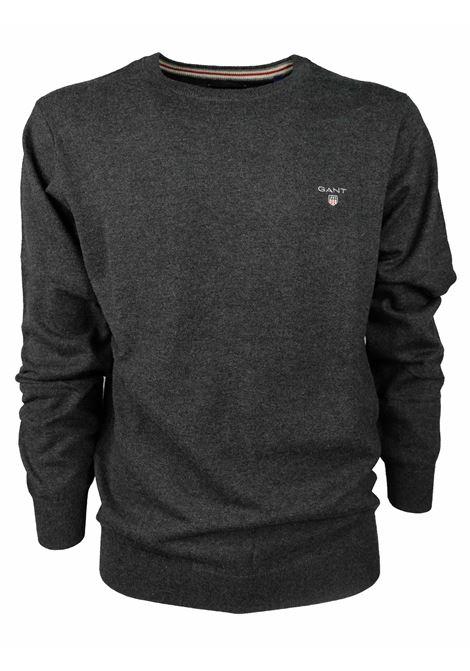 ROUNDNECK PULLOVER GANT | Knitwear | 8310197