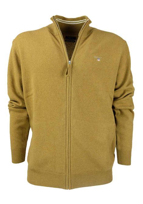 CARDIGAN ZIP GANT | Knitwear | 86214389