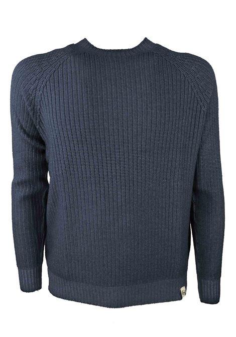 Pullover girocollo in lana merino H953 | Maglieria | 294269