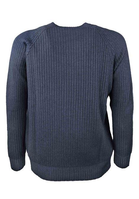 Pullover girocollo in lana merino H953 | Maglieria | 294290
