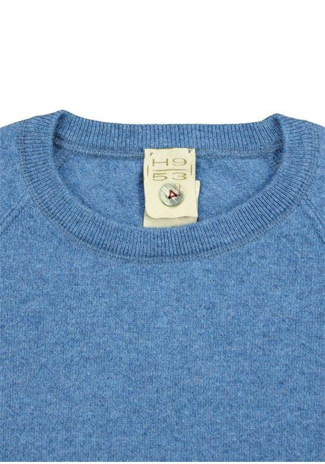Pullover in cashmere modello felpa H953 | Maglieria | 299671