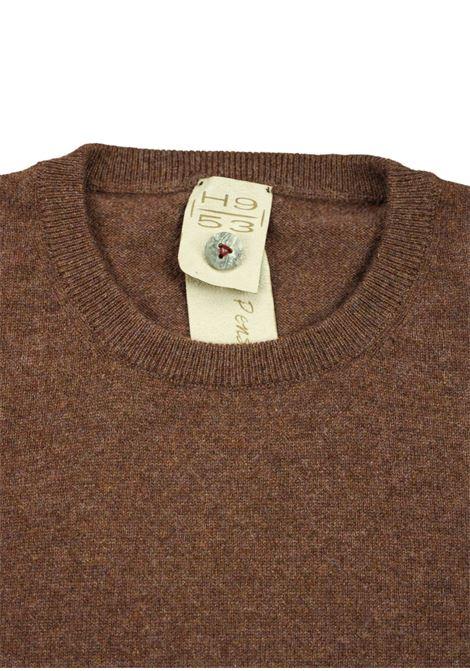 Pullover girocollo in cashmere 100%  due fili H953 | Maglieria | 299758