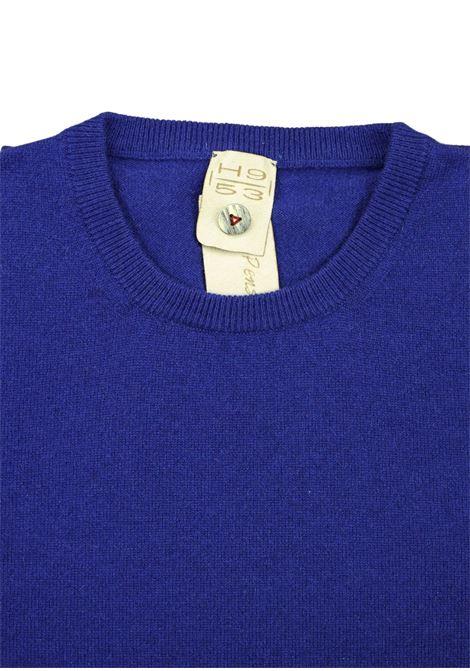 Pullover girocollo in cashmere 100%  due fili H953 | Maglieria | 299788