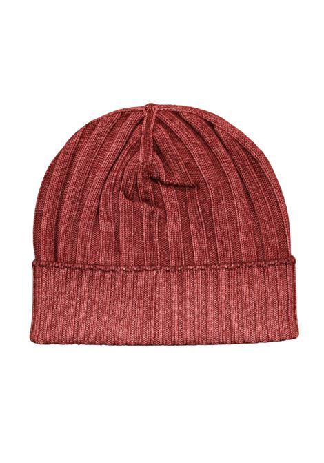 berretto in lana merino a coste H953 | Maglieria | 314051