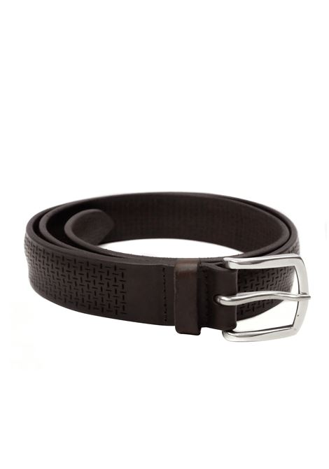 perforated belt ORCIANI | Belts | 7964MORO