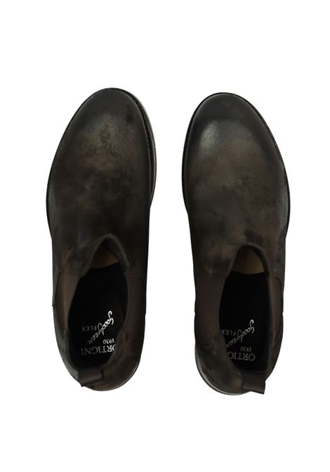 WAXED SUEDE  BEATLE SHOES