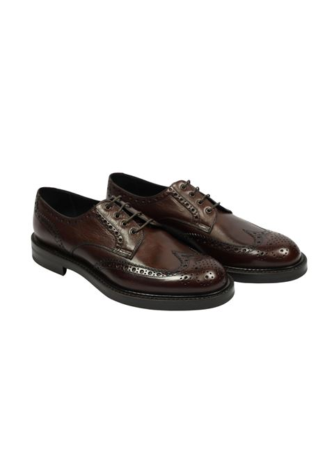 LACED SHOES ORTIGNI | Shoes | 3501 595TABACCO
