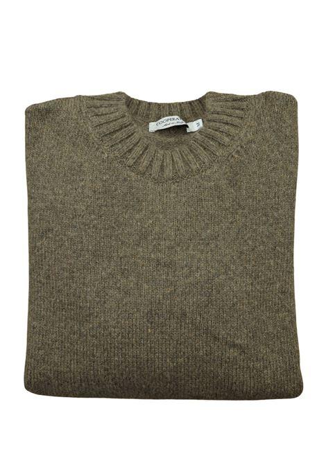 maglia girocollo in lana/cashmere 3 fili Pescatori Posillipo | Maglieria | 638CACAO