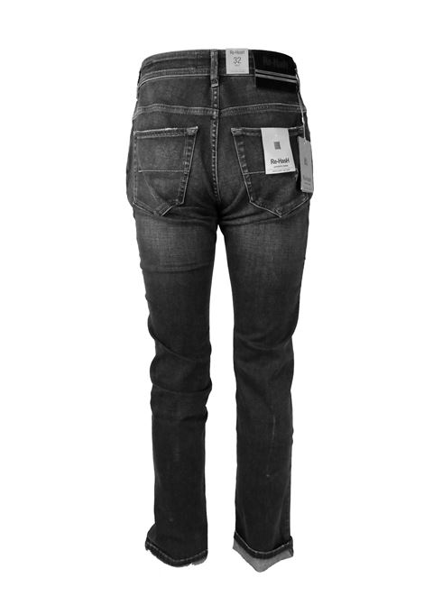 JEANS 11 OZ. GRIGIO Re-HasH | Pantaloni | HOPPER 2723 PS13937BLACK