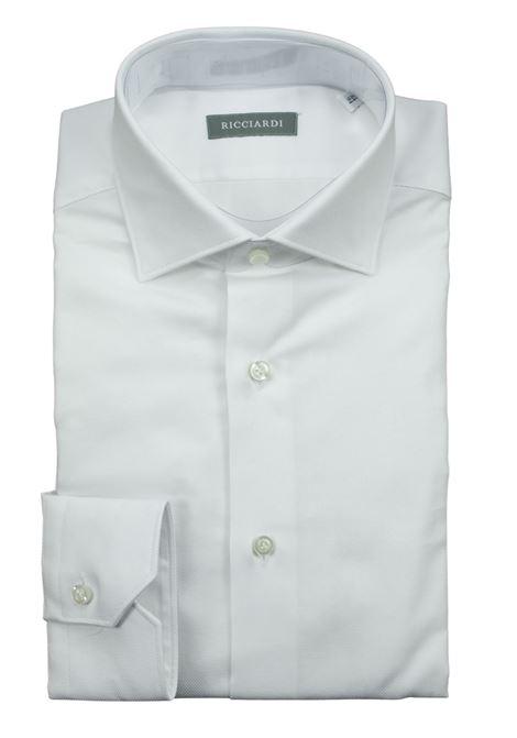 camicia classica vestibilità regular RICCIARDI | Camicie | GIO REG666 01