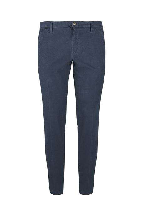 Pantalone slim fit in velluto millerighe AT.P.CO. | Pantaloni | DAN78ITC301799