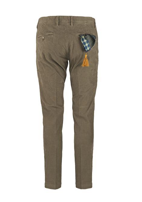 Pantalone slim fit in velluto millerighe AT.P.CO. | Pantaloni | DAN78ITC301880