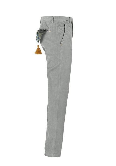 Pantalone slim fit in velluto millerighe AT.P.CO. | Pantaloni | DAN78ITC301950