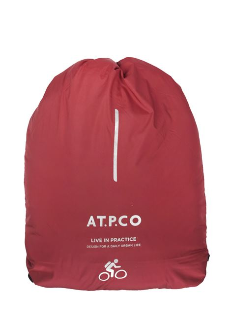 Down jacket with fixed hood AT.P.CO.   Jackets   RED607CHT400480