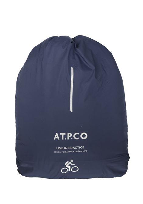 Down jacket with fixed hood AT.P.CO.   Jackets   RED607CHT400790