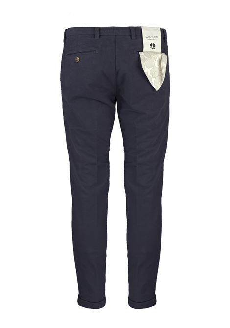 Pantalone slim fit in velluto armaturato AT.P.CO. | Pantaloni | SASA45ITC309790