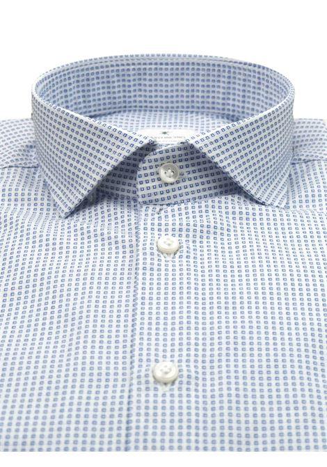 Printed shirt , regular fit , soft collar washed and softened BASTONCINO | Shirts | SARTB1965 01