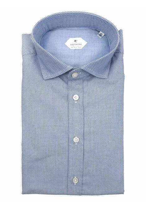 Printed shirt , regular fit , soft collar washed and softened BASTONCINO | Shirts | SARTB1965 02