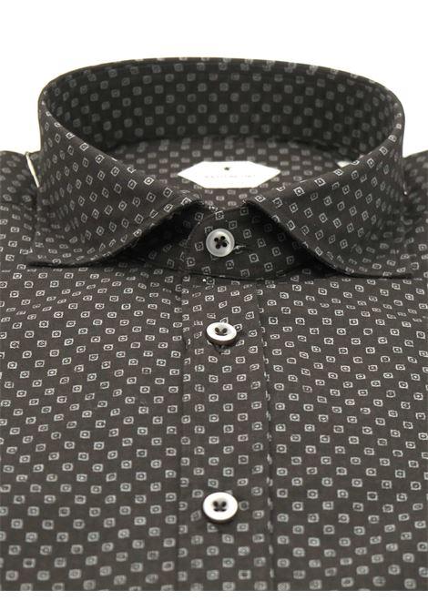 Camicia fantasia vestibilita regular BASTONCINO | Camicie | SARTB1966 01