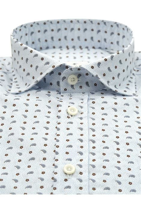Camicia fantasia vestibilita regular BASTONCINO | Camicie | SARTB1970
