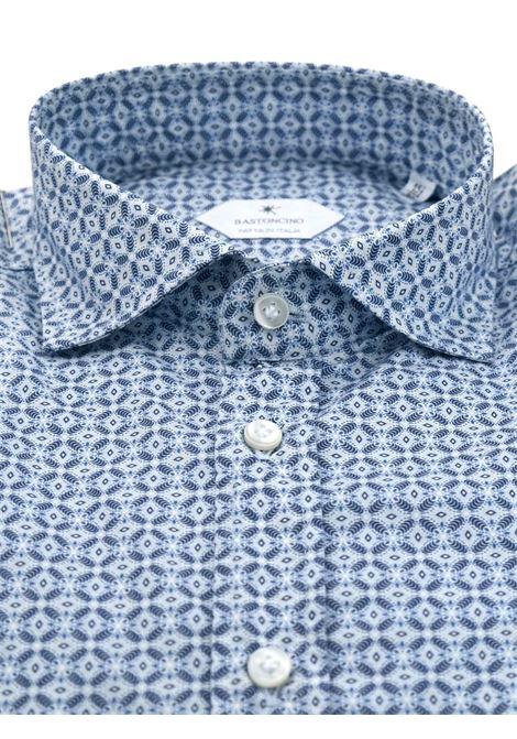 Camicia fantasia vestibilita regular BASTONCINO | Camicie | SARTB1971 01