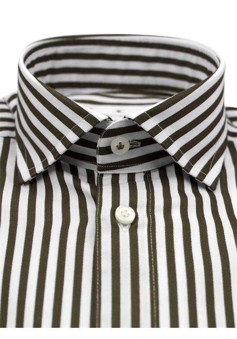 Camicia fantasia vestibilita regular BASTONCINO | Camicie | SARTB1996 02