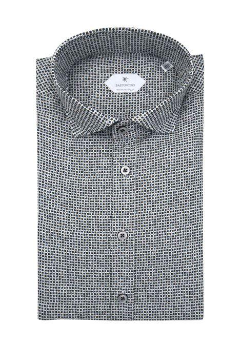 Camicia fantasia vestibilita leggermente slim BASTONCINO | Camicie | SIMO2000