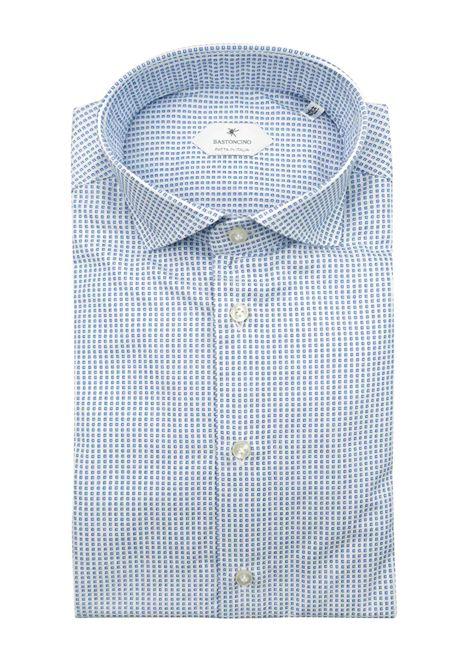 Camicia fantasia vestibilita leggermente slim BASTONCINO | Camicie | SIMOB1965 01