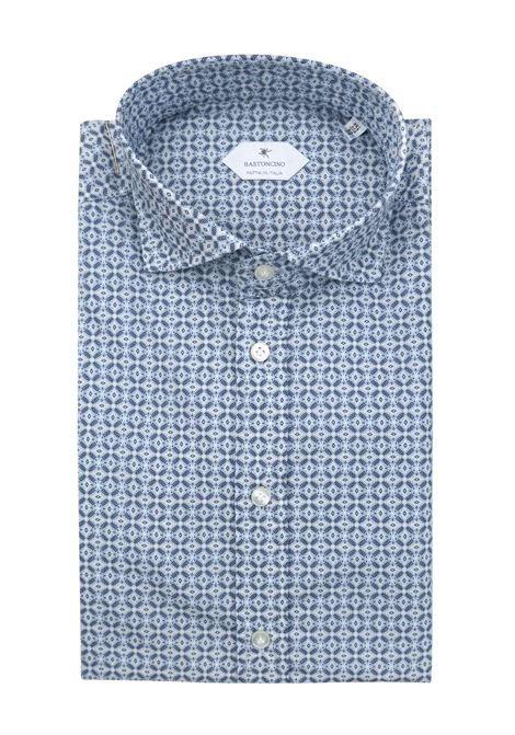 Camicia fantasia vestibilita leggermente slim BASTONCINO | Camicie | SIMOB1971 01