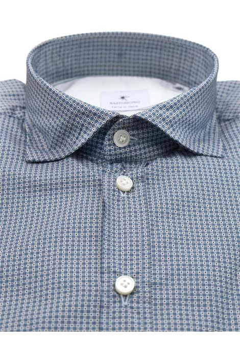 Camicia fantasia vestibilita leggermente slim BASTONCINO | Camicie | SIMOB1975 01