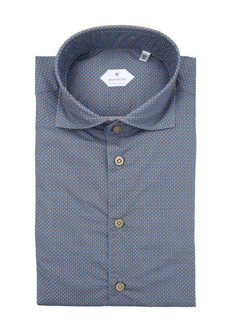 Camicia fantasia vestibilita leggermente slim BASTONCINO | Camicie | SIMOB1977 01
