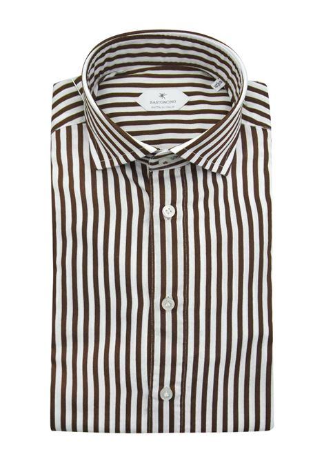 Camicia fantasia vestibilita leggermente slim BASTONCINO | Camicie | SIMOB1996 02
