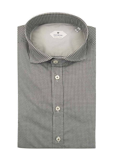 Camicia fantasia vestibilita leggermente slim BASTONCINO | Camicie | SIMOB1998