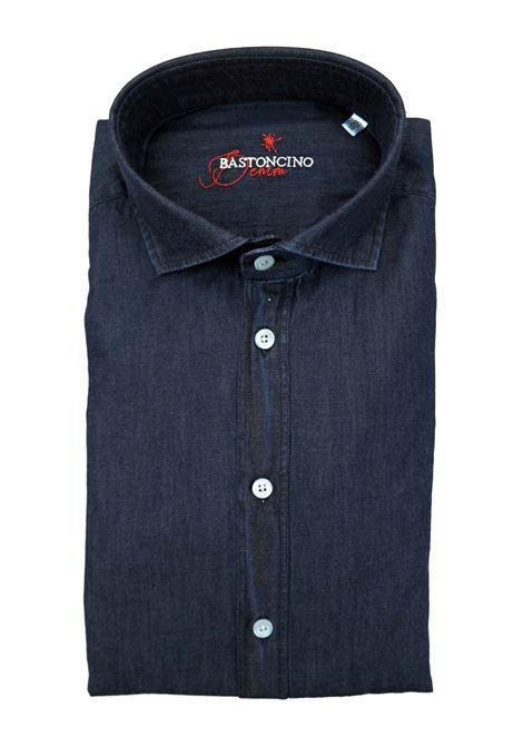 Camicia fantasia vestibilita leggermente slim BASTONCINO | Camicie | SIMOB2056