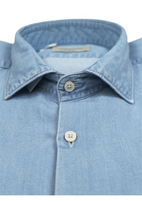 Camicia slim fit, collo francese, indigo BROOKSFIELD | Camicie | 202A.T093V0031
