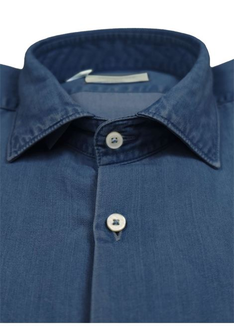 Camicia slim fit, collo francese, indigo BROOKSFIELD | Camicie | 202A.T094V0032