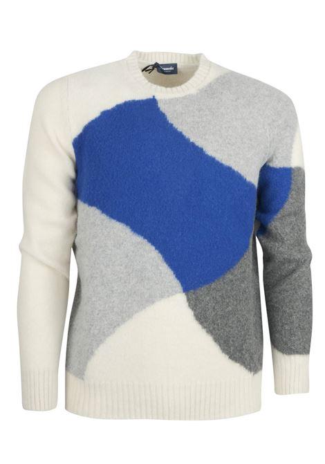 Pullover girocollo fantasia DRUMOHR | Maglieria | D8W103BI003