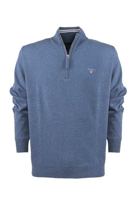 Pullover con zip corta GANT | Maglieria | 086213489