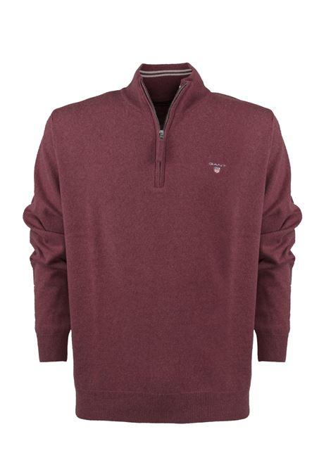 Pullover con zip corta GANT | Maglieria | 086213644