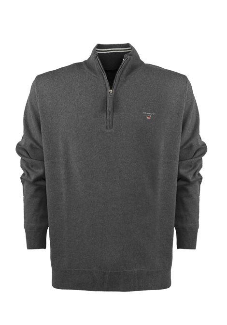 Pullover con zip corta GANT | Maglieria | 08621395